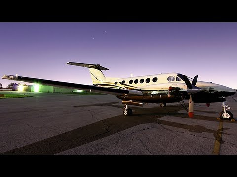 Flying to the Rocky Mountains in a Beechcraft King Air