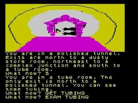 Red Moon Walkthrough, ZX Spectrum
