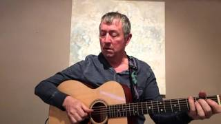 """Acoustic guitar cover of Randy Newman's """"God's Song (that's why I love mankind)."""""""