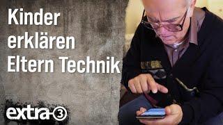 Kinder erklären Eltern Technik