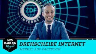 Drehscheibe Internet: Merkel auf Facebook | NEO MAGAZIN ROYALE mit Jan Böhmermann - ZDFneo
