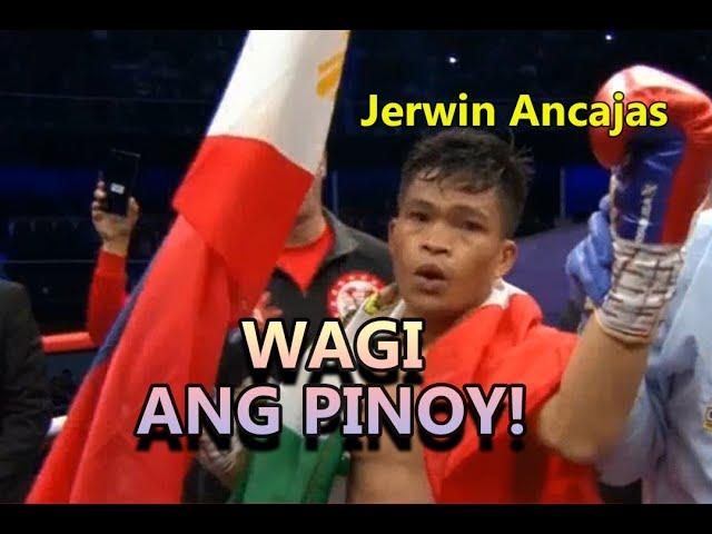 Jerwin Ancajas na TKO sa 6th Round  ang KALABAN..Manny Pacquiao Promotion panalo ulit!!!