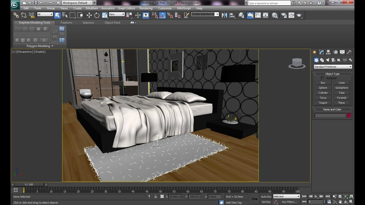 3ds Max Tutorial Realistic Interiors In V Ray Carpet Fur