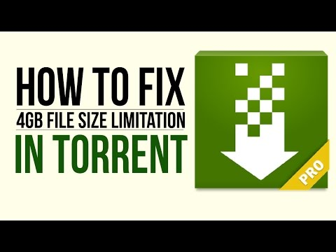 How To Fix 4gb File Size Limitation In Torrent Android Using Paragon ExFAT, NTFS & HFS+