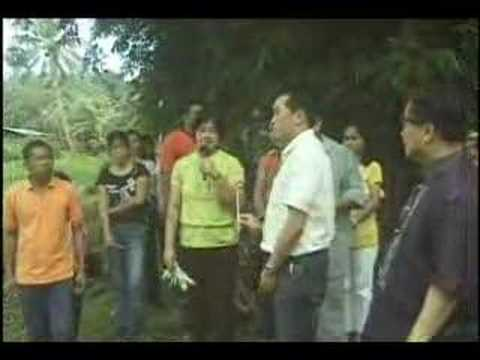 Sec. Arthur Yap turnover Loboc Projects