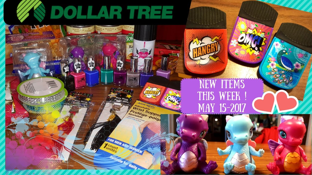 Dollar Tree Haul * ALL NEW ITEMS * This week MAY 15, 2017!!!