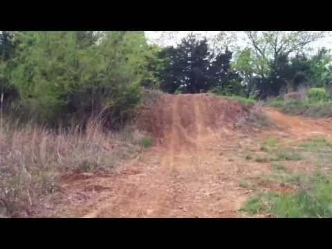 Dirtbike ATV motocross track in Kansas recorded for a friend