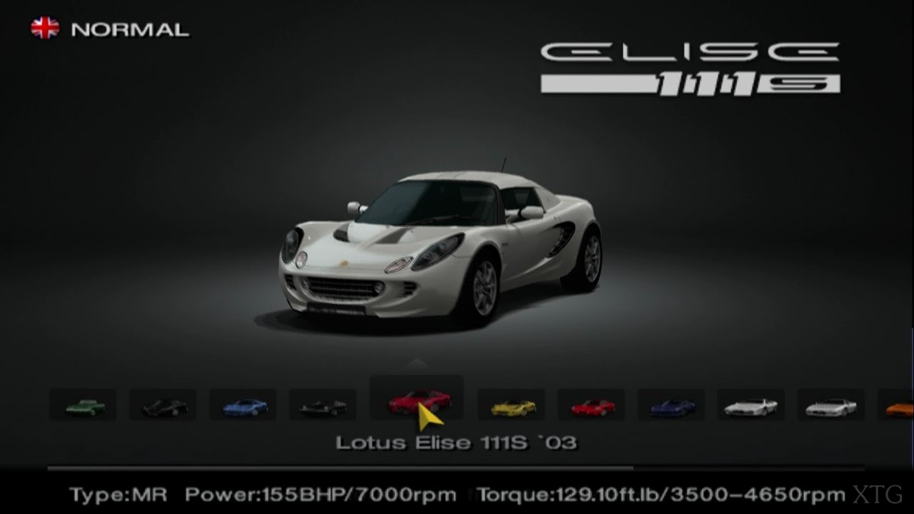 gran turismo 4 lotus car list ps2 gameplay hd youtube. Black Bedroom Furniture Sets. Home Design Ideas
