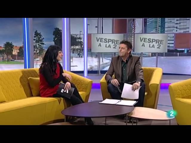 RTVE | Roser Amills secció Vespre a La 2 (29 novembre 2013)