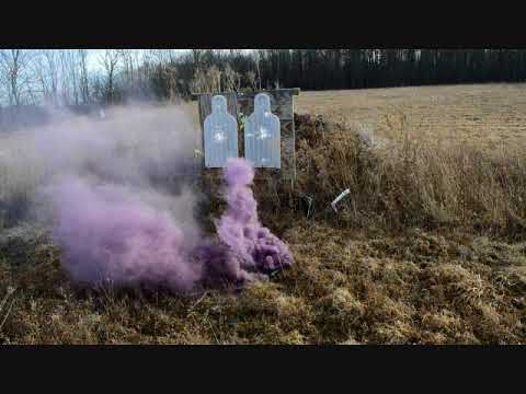 XM18 Smoke Grenade New totally reloadable and long lived !!