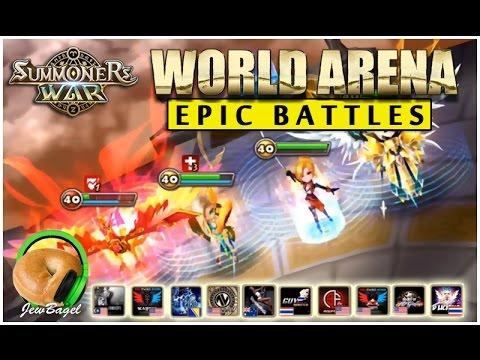 SUMMONERS WAR : World Arena Epic Battles! (Episode One)