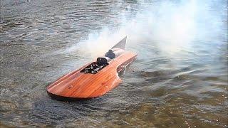 Best of RC boat crashes Achterdieksee Bremen 2015