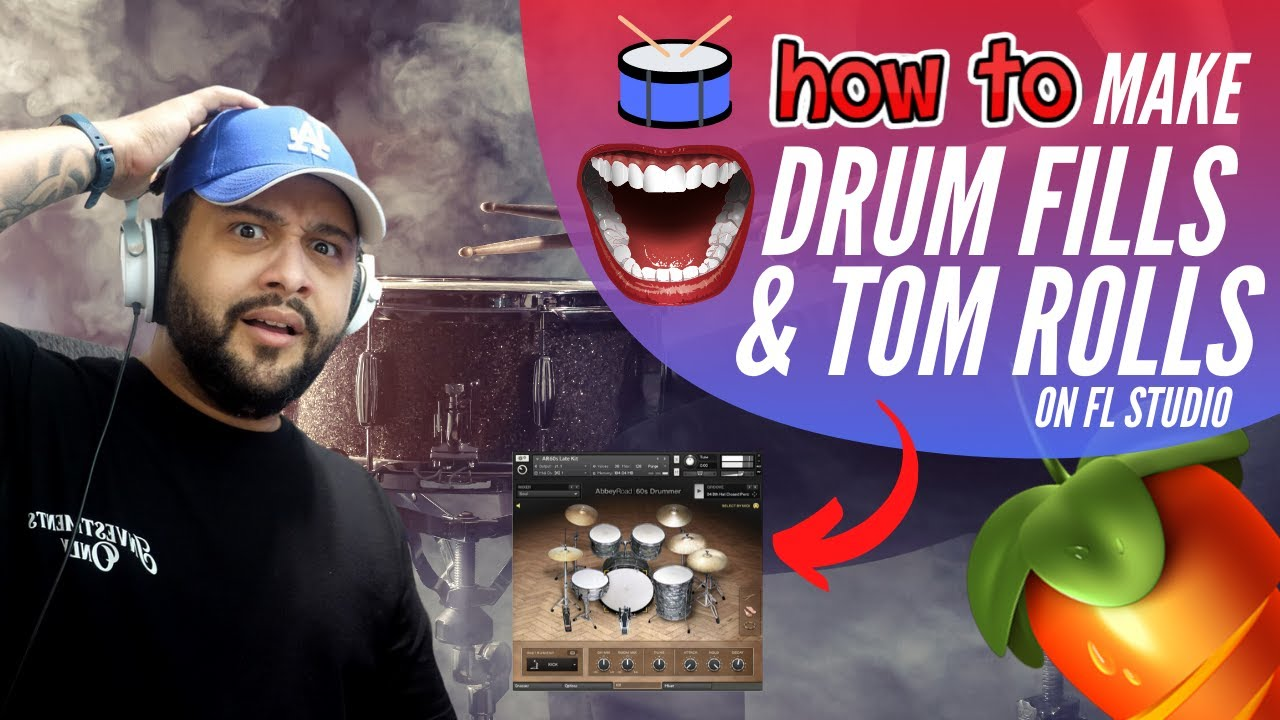 Download How To Make Your Own DRUM FILLS And TOM ROLLS in FL STUDIO