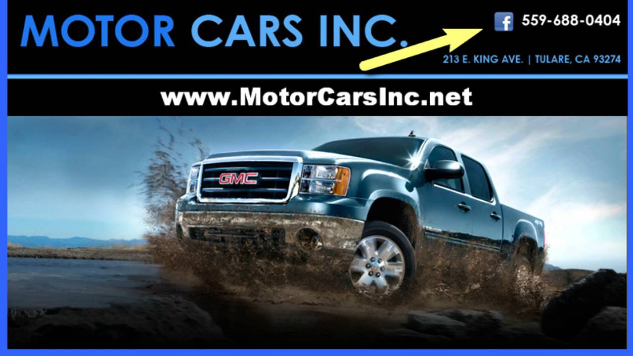 Great used trucks cars motor cars inc tulare ca youtube for Motor cars tulare ca