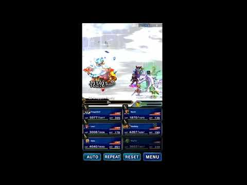 FFBE Limit Bursts - 6-star Pure Summoner Rydia (Esper Mist Dragon Breath)