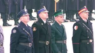 Obchody 100. rocznicy Odzyskania przez Polskę Niepodległości - uroczystość na Pl. Piłsudskiego