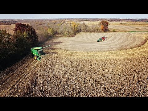 Farming In 4K - Harvesting
