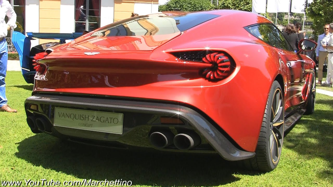 Watch on aston martin v12 vanquish