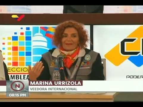 Comité de Veedores Internacionales presentó informe de Elecciones Parlamentarias 2020 en Venezuela
