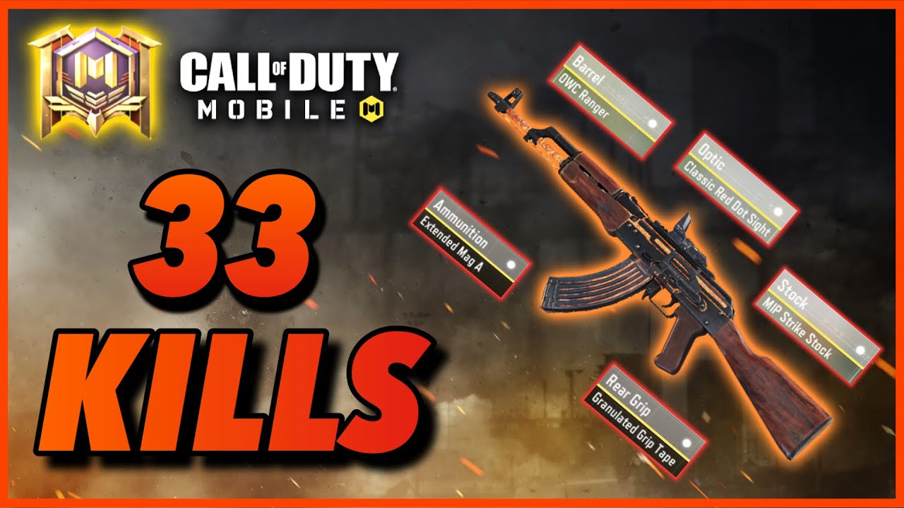 Every Player Should Try This Insane AK47 Gunsmith Build in Call of Duty Mobile Battleroyale