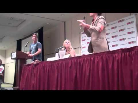 AJ Cook and Matthew Gray Gubler Talk CRIMINAL MINDS
