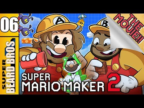 The Bros. Make a Level | Super Mario Maker 2 Ep. 6 The Movie | Super Beard Bros.