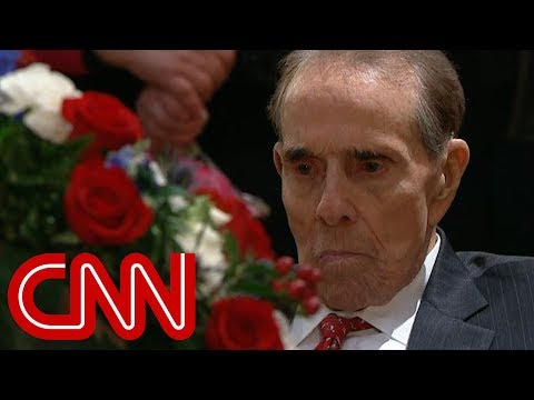 Bob Dole's moving salute to former President Bush