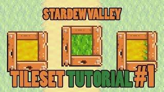 Create a pixel texture! - Stardew Valley Tileset Tutorial #1