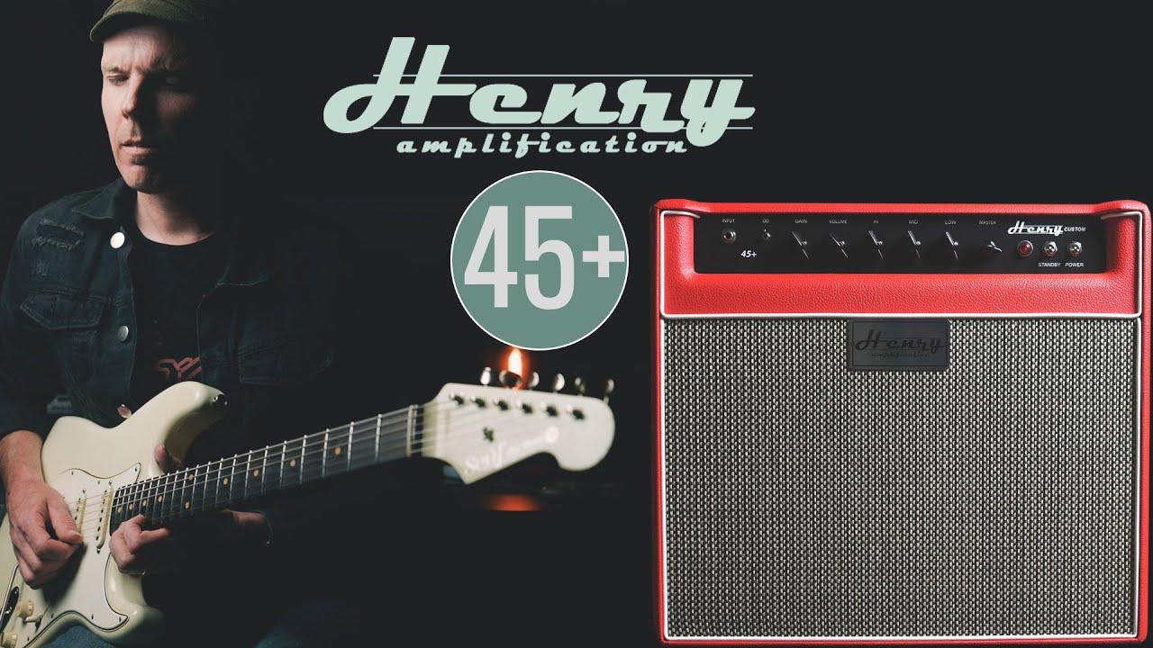 Demos in the Dark // Henry Amps 45+ // Guitar Amp Demo