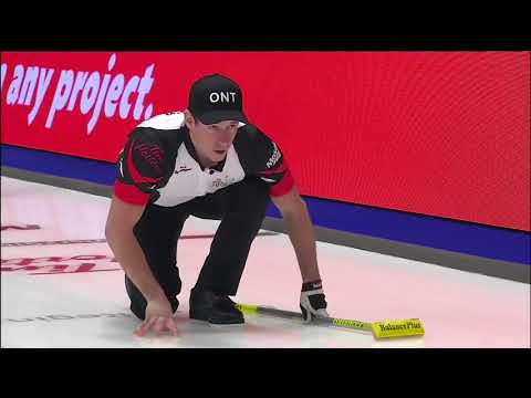 Epping (ON) vs. Laycock (SK) - 2018 Tim Hortons Brier - Draw 13