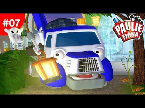 Paulie y Fiona | El auto fantasma | Caricaturas para Niños | Caricaturas en Español