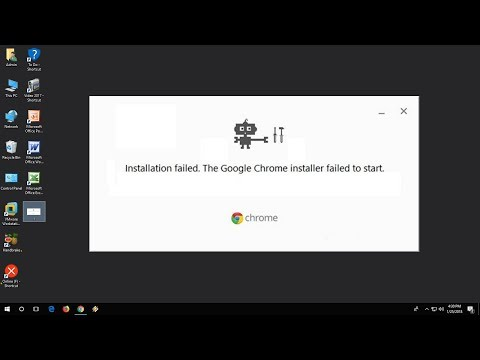 "How To Fix ""Google Chrome Installer Failed To Start"" Error In Windows 10/8/7"