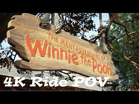 Disney World Rides Videos   The Many Adventures of Winnie the Pooh Ride   FL Attractions 360