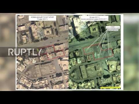Syria: Image of compound where IS-leader Al-Baghdadi was reportedly killed released by Russia MoD
