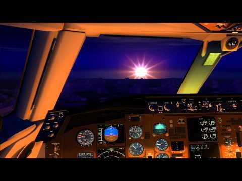 From Los Angeles to Las Vegas: Boeing 757-200 United (FS2004 Full Flight Video)