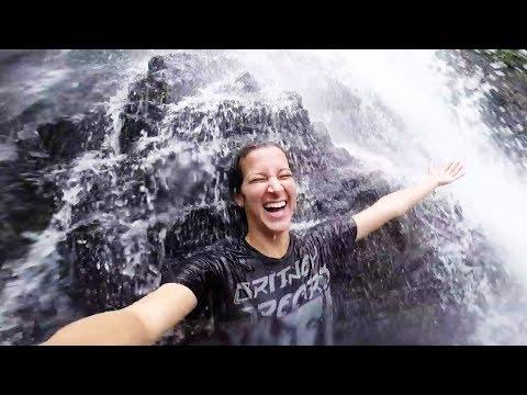 Playing In Waterfalls - Fiji Day 7