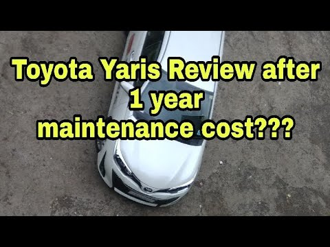 New Toyota Yaris review 2019 India,after 1 year, maintenance cost???