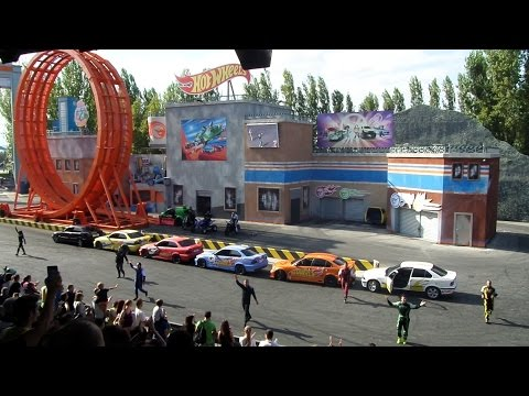 Mirabilandie Hotwheels stunt show