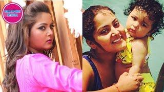 अंजना सिंह का बेटी ज्यादा खुबसूरत निकली 'बेटा' से II Anjana Singh Daughter Aaditi II Bhojpuri Xp