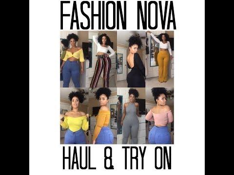 FASHION NOVA HAUL & TRY-ON 2018
