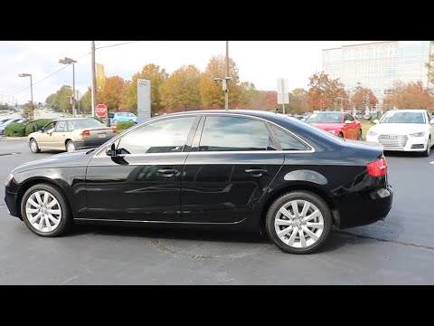 2013 Audi A4 Duluth, Suwanee, Buford, Lawrenceville, Atlanta, GA AJD008007A