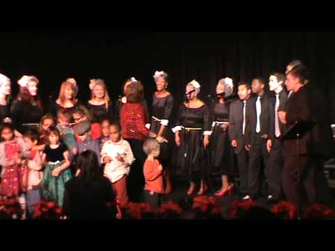 Bolton High School Jazz Choir sings Rudolph the Red-Nosed Reindeer 12112012