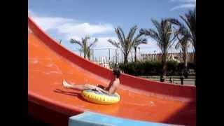 видео Аквапарк в Египте - Клео парк (Cleo park)