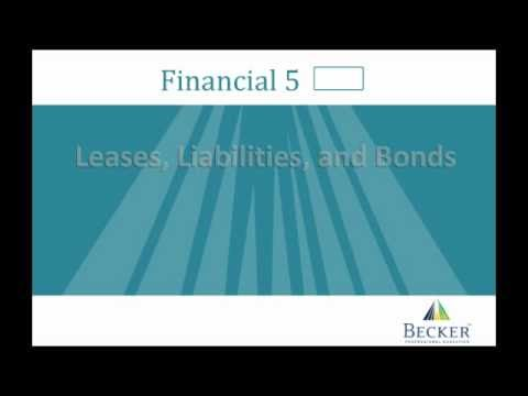CPA Exam: Financial Lecture - Becker CPA Exam Review