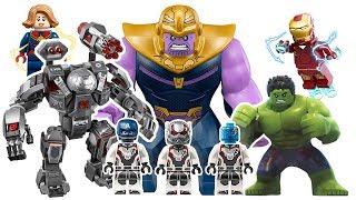 Лего Месники 4 Кінець Гри! Військова Машина Бастер! Перемогти Таноса! ❤️ RACHAMAN ІГРАШКА
