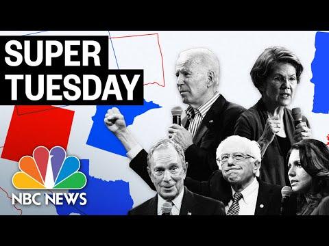 Super Tuesday: California, Texas Election Results   (Live Stream Recording)