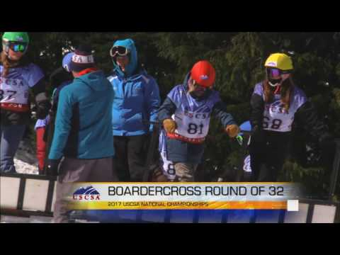 2017 Women's Boardercross/Skiercross Finals- SB/FS
