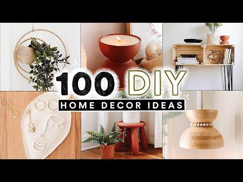 100 DIY HOME DECOR IDEAS + HACKS You Actually Want To Make! ✨ (Full Tutorials) - YouTube