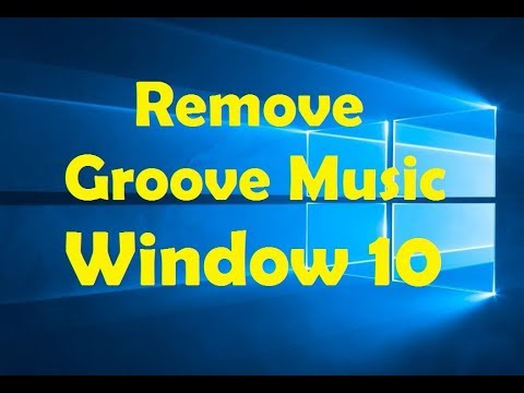 How To Remove Groove Music From Windows 10 ? Uninstall Groove Music App
