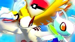 Minecraft Pixelmon MEGA LUCKY BLOCK WORLD - SKY WORLD PART 1 WOO!!! (Minecraft Pokemon Mod)
